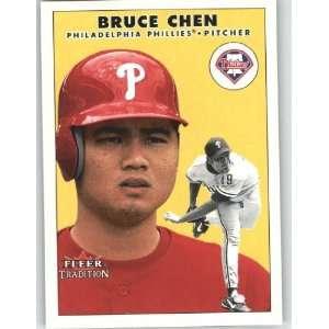 2000 Fleer Tradition Update #113 Bruce Chen   Philadelphia