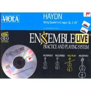 String Quartet 3 / Viola Haydn, Ensemble Live Music