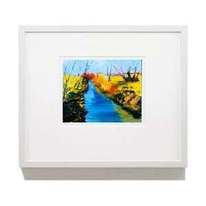 16 X 20 White Framed Print Wall Art