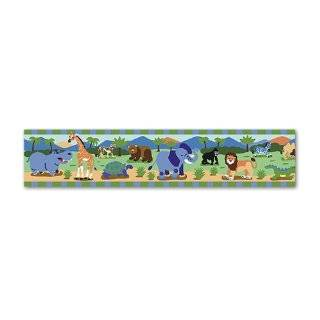 Wild Animals Wall Border by Olive Kids