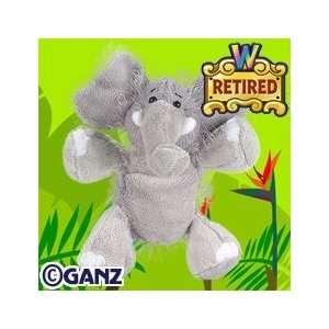 Webkinz Elephant with Webkinz Magnetic Bookmark Toys & Games