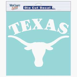 Texas Longhorns 8 X 8 Die Cut Decal