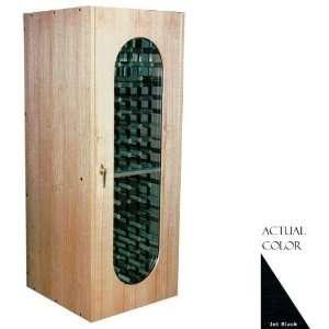 Mercury Series Wine Cellar   Glass Doors / Black Cabinet Appliances