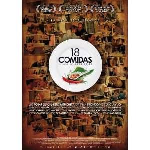18 comidas Poster Movie Spanish (11 x 17 Inches   28cm x