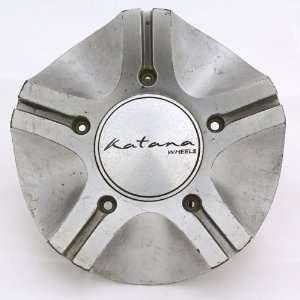 Katana Wheel Destiny Center Cap Silver #C 129 Automotive