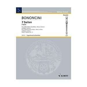 Suites   Volume 2 Composer Giovanni Battista Bononcini