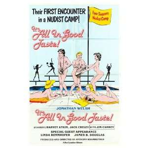 All in Good Taste Original Movie Poster, 25.75 x 39.75 (1983