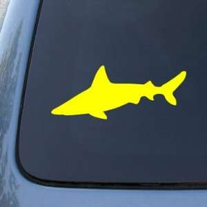 SHARK SILHOUETTE   Jaws   Vinyl Car Decal Sticker #1741  Vinyl Color