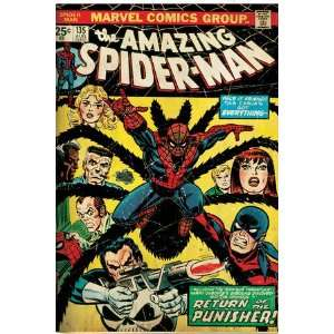 Comics Retro The Amazing Spider Man Comic Book Cover #135, Return