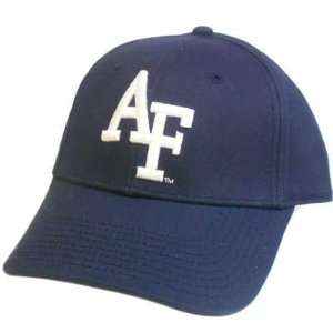 HAT CAP US AIR FORCE ACADEMY FALCONS NAVY BLUE WHITE US FLAG GAME