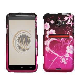 Exotic Love Rubberized Hard Case Cover for HTC EVO 4G LTE
