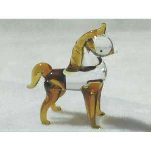 Collectibles Crystal Figurines Golden Horse