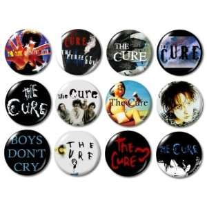 The Cure Buttons/Pins/Badges
