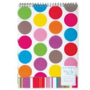 Carolina Pad Eye Candy Flip Top Notebooks, 8 x 11 Inches, 70 Sheets, 6