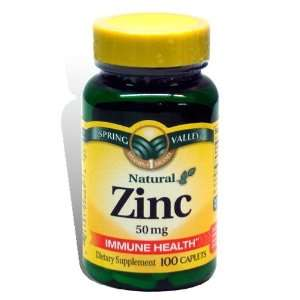 Spring Valley Zinc Supplement Health & Personal Care
