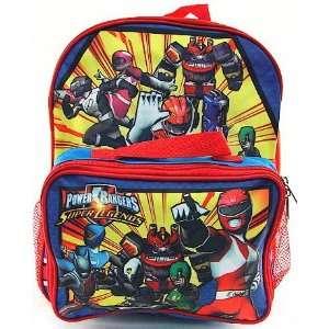 Power Rangers Super Legends Kids Blue & Red Backpack