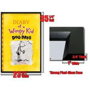 Framed Diary Wimpy Kid Poster Dog Days J Kinney Fr6399