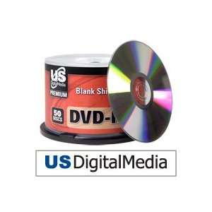 USDM Premium DVD R Silver Top 16x Electronics