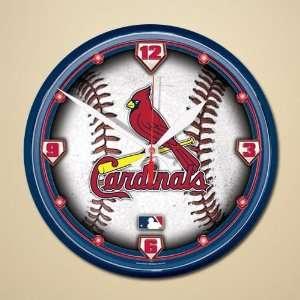 St. Louis Cardinals Dimension Wall Clock