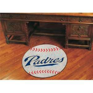 MLB   San Diego Padres San Diego Padres   Baseball Mat