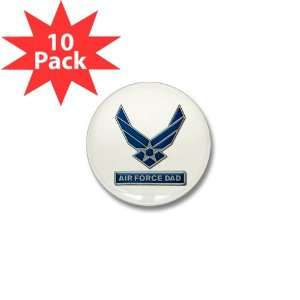 Mini Button (10 Pack) Air Force Dad