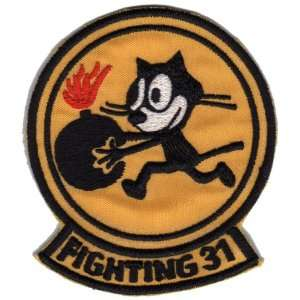 31st Fighting Squadron 3.25 Patch Office Products