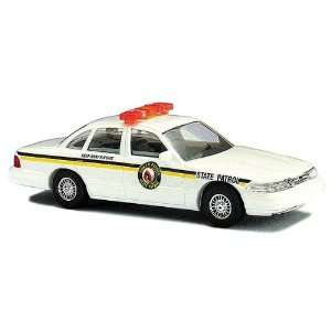 Busch HO (1/87) North Dakota State Police Ford Crown Victoria  Toys