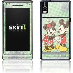 Mickey & Minnie Holding Hands skin for Motorola Droid 2