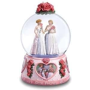 Love Lucy   Best Friends Water Globe