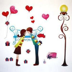 Install Decorative Wall Sticker Decals   First Love