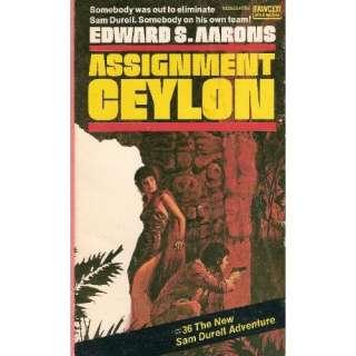 Assignment, Ceylon Edward S. Aarons Books