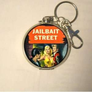 Jailbait Street 1950s Exploitation Coin, Guitar Pick or Pill Box MADE