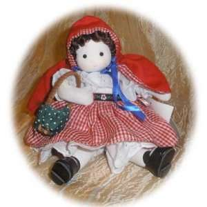 Little Red Riding Hood Collectible Musical Doll Home
