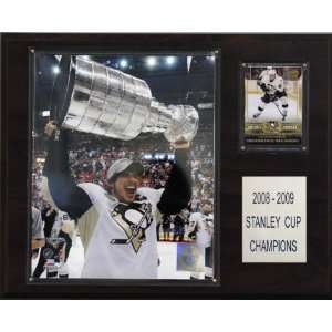 NHL Sidney Crosby with Stanley Cup Pittsburgh Penguins