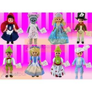 2010 McDonalds Madame Alexander Complete Sets of 8 Storybook Dolls