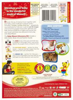 Disney Baby Einstein  Baby Mozart Discovery Kit DVD   Free Shipping