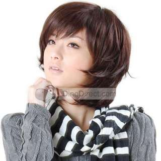 Short bob hair wig looks natural, very pretty and feminine