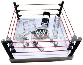 Wholesale WWE Raw Arena Playset Ring Figure Set 7Pc   DinoDirect