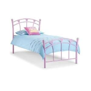 SWEETHEART GIRLS Metal Single Bed frame with economy mattress £115
