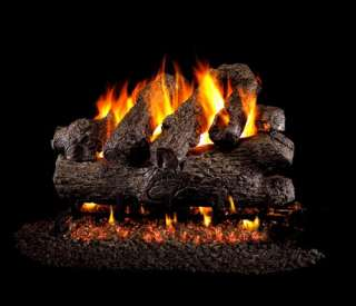 BGX4 18 Peterson Real Fyre 18 inch Royal English Oak Gas Logs