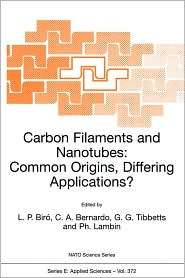 Carbon Filaments and Nanotubes Common Origins, Differing Applications