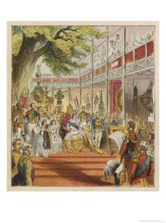 Queen Victoria Opens the Great Exhibition in the Crystal Palace in