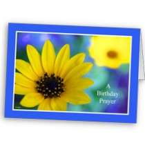 Christian Birthday Cards    A Birthday Prayer by KathyHenis