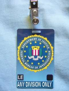 CTU FBI ID Card Larry Moss Agent Security Cards 24 Prop