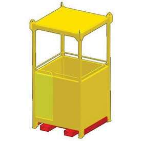 Suspended Personnel Basket Is Ideal For Safe Lifting And Transport Up