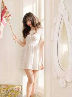 Pearl/Daisy Lowe Vintage Cream Lace Tea Dress 16 Nwts