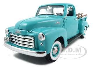 1950 GMC Pickup Truck Green Diecast Model Car 1/18 Die Cast Car by Yat