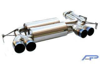 Agency Power Stainless Steel Exhaust System 2001 2005 BMW E46 M3