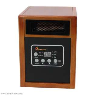 DR 968 Dr. Heater Portable Infrared Space Heater With Caster Wheels