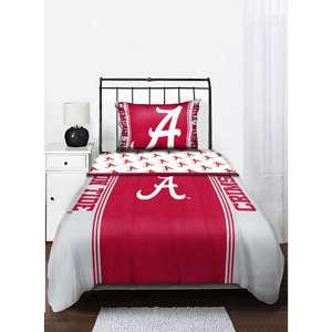 NCAA Alabama Crimson Tide Twin/Full Comforter Sports Fan